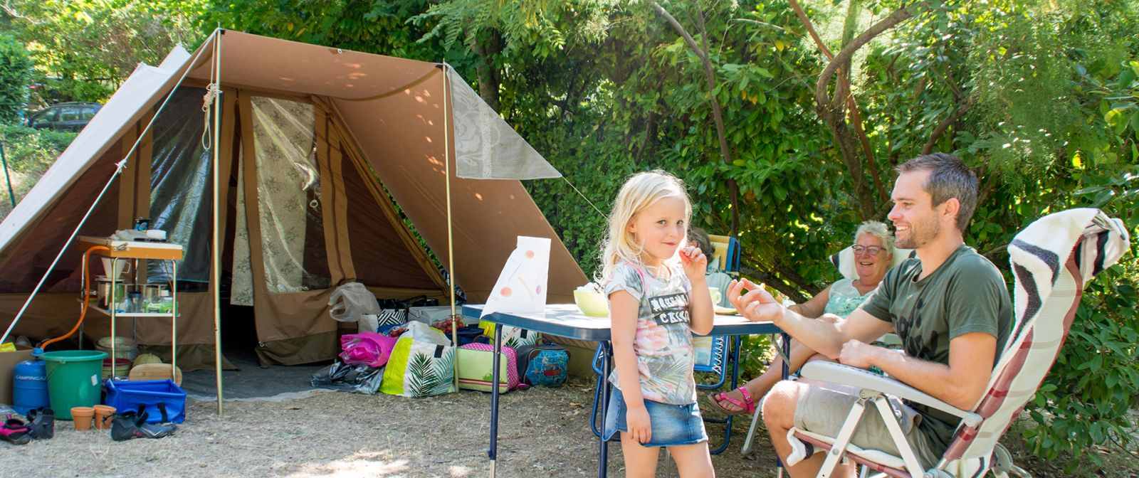 vacances en camping dans le verdon