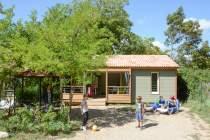 Vacances en chalet dans un camping du Verdon